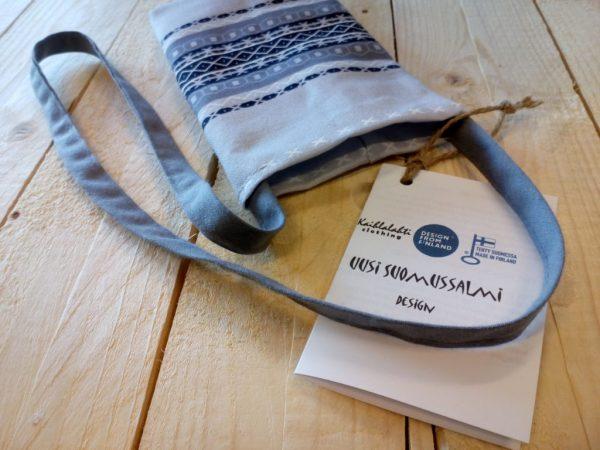 Kaihlalahti Clothing Uusi Suomussalmi kännykkäpussi pieni kuvio